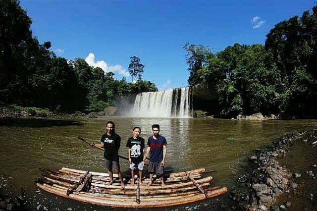 Air Terjun Mananggar Kalimantan Barat Air Terjun Niagara Nya Indonesia Destinasi Pariwisata Indonesia Terpopuler